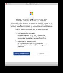 Mircosoft Word For Mac Office Für Mac Und Ios Microsoft Zwingt Zur Übermittlung Von