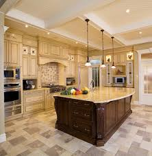 White Kitchen With Granite Counters Antique White Kitchen Cabinets With Granite Countertops