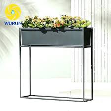 corner plant stands outdoor tall plant stand whole wire garden decoration tall metal planter display iron