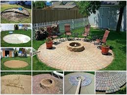 Diy patio with fire pit Affordable Building Patio Fire Pit Circular Fire Pit Patio Easy Diy Project Video Instructions Diy Diy Building Patio Fire Pit Digitalverseorg Building Patio Fire Pit Homemade Outdoor Fire Pit Fire Pits