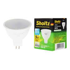 <b>Лампа светодиодная Sholtz 9 Вт</b> GU5.3 рефлектор MR16 4000 К ...