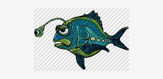 Hand-drawn Cartoon Alien Fish By Aaron Goodson - Marlin - Free Transparent  PNG Download - PNGkey