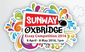 sunway oxbridge essay competition emenang emailshare