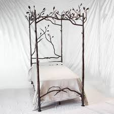 Forest Canopy Iron Bed