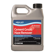 custom building s aqua mix 1 qt cement grout haze remover