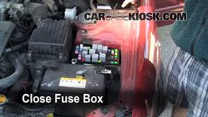 blown fuse check 2001 2006 kia optima 2004 kia optima lx 2 7l v6 6 replace cover secure the cover and test component