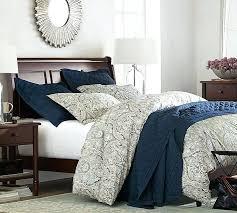 navy paisley bedding paisley duvet cover sham dark blue paisley bedding
