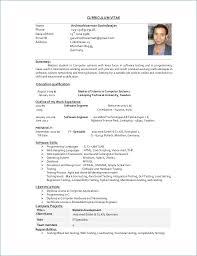 Bistrun Resumes Formats Download Job Resume Template Download Best