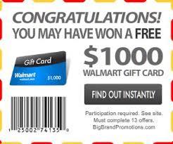 Pop-up – 1000 Winner' Spywareremove Card ' Walmart Fake com Gift