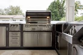Alfresco Outdoor Kitchens Alfresco L Shape Outdoor Kitchen Appliance Package Luxapatio