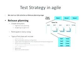 Release Planning Template Stunning Inspection Test Plan Form Completed Example Free Templates Qa