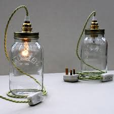 Glass Bottle Lamps Bespoke Kilner Jar Table Lamp By Uniques Co Notonthehighstreetcom