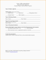 Recommendation Letter For Student Scholarship Pdf 23 Recommendation Letter For Student Scholarship Free Download
