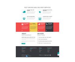 Flat Ecommerce Design Inspiration Free Ecommerce Flat Design Template Creative Professional