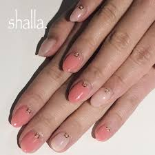 とろみ系ピンク2色の大人ネイル ネイル ネイルアート ジェルネイル