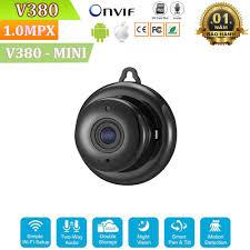 Camera WiFi Giám Sát Không Dây V380 Mini - Full HD 720P - Hỗ Trợ Hồng Ngoại  Ban Đêm
