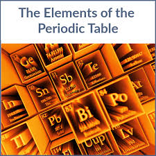 The Elements of the Periodic Table – Spring 2018, 10 AM PT ...