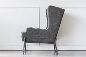 wingback chair raw