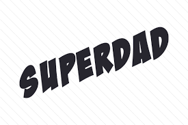 Superbad is a noted web art installation created by ben benjamin in 1997. Superdad Svg Cut File By Creative Fabrica Crafts Creative Fabrica