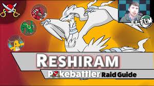 Reshiram Counters - Pokemon GO Pokebattler