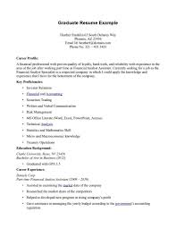 Examples Of Resumes For First Job Graduate Resume Sample For First Time Seeking Job Position With 51