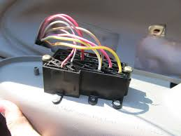how to install a power window switch on your 1999 2004 mustang  at 1992 Ford F150 Power Window Switch Wire Harness