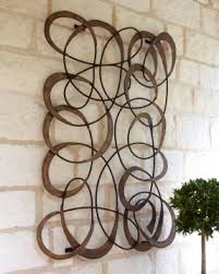 metal wall art circles on large exterior wall art with metal wall art circles foter