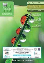 All Things Local Village Edition August September 2018