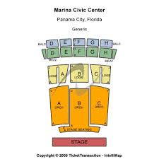 Panama City Marina Civic Center Seating Chart Marina Civic Center Events And Concerts In Panama City