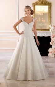 wedding dresses keyhole back princess wedding dress stella york
