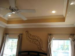 How To Decorate A Tray Ceiling Crown Molding On Tray Ceiling Tray Ceilings Decorate With Moldings 48