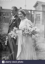 The bride and bridegroom leaving the church after the ceremony ...