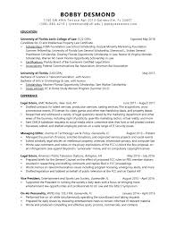 Bobby Desmond Resume Employment History References Letter Of