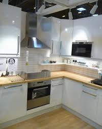 High Gloss White Kitchen Ikeas Abstrakt High Gloss White Kitchen Display At Grand Designs