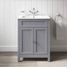 butler rose catherine vanity unit basin matt grey