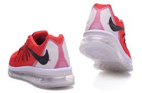 nike running shoes 2015 white. nike air max 2015 red white black running shoe shoes i