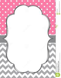 Small Picture pink chevron border template