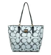 Compared With The Traditional Products, Coach Madison East West Small Grey  Totes EAJ Is More Stylish And Cheaper.