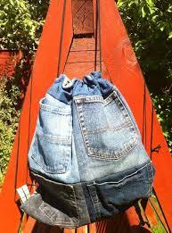 pocketed drawstring backpack