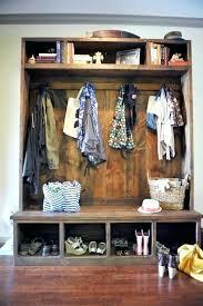 Shoe Rack And Coat Hanger Amazing Coat Hanger With Storage Bench With Shoe Storage And Coat 80