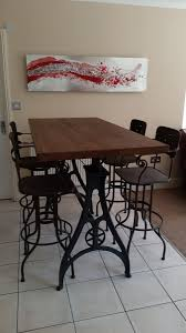 Iron Dining Table Legs Industrial Based Dining Tables From Recycled Steel And Iron With