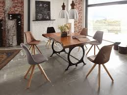 two chair kitchen table new kitchen table series stunning loft style möbel natur trifft