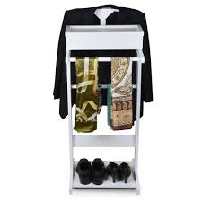 Mens Suit Valet 2017 Wood Valet Suit Butler Stand Garment Coat Hat Rack Clothes
