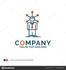 Self Logo Design Development Human Network Personality Self Logo Design
