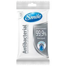 Влажные салфетки <b>Smile</b> — купить на Яндекс.Маркете
