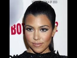 kourtney kardashian inspired makeup look