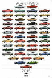 Ford Mustang 50th Anniversary 6 Generations American Muscle