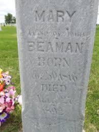 Mary Polly Lucas Beaman (1816-1892) - Find A Grave Memorial