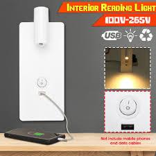 Đèn ngủ LED gắn tường tiết kiệm điện năng có cổng sạc USB giảm chỉ còn  383,000 đ