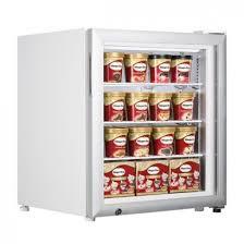 tefcold uf50g 50 litre counter top display freezer